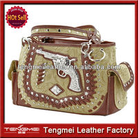 WESTERN CONCEALED WEAPON BLING RHINESTONE STUDDED PURSES AND HANDBAGS