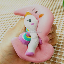 2018 OEM Most Popular slow rising squishy Unicorns on the moon pressure relief toys