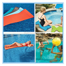 Foam Pool Float vinyl coated dipped Swimming Recreaton Floating Pool Lounge Water Bed Floating Mat