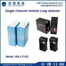 Factory Wholesale AC110/220V,DC12/24V Vehicle access detection Single Loop Detector for car park management and toll system