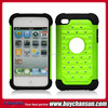 cheap mobile phone case rhinestone combo case for ipod touch 4