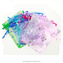China Manufacturer Wholesale Personalized Silk Organza Bag
