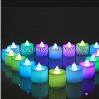 led candle light simulated flame artificial remote control led candle