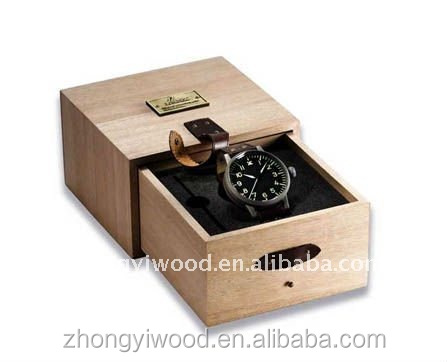 Trade assurance custom handmade FSC wooden watch box Wholesale