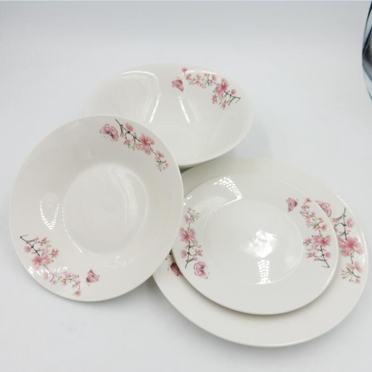 hotel & restaurant crockery tableware for ceramic dessert plate, promotion gift