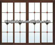 aluminum tambour doors/sliding door/bi-folding door