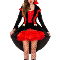 adult Victorian Vampire Countess of The Night Costume women sexy party cosplay halloween black gothic Devil fancy dress custom