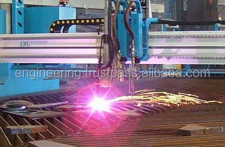CNC Plasma Cut Profile / CNC Machining Service