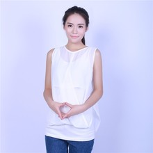 Fashion Turkey Style Pregnant Women Solid Chiffon Casual Blouses Tops