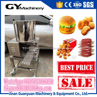 Automatic Beef Shrimp Meat Pie Making Machine /patty forming machine/patty maker