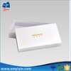 Factory price white square pattern of boxes cardboard with logo