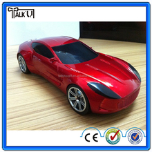 Super bass rechargeable car shape bluetooth speaker with TF/FM radio, portable digital wireless car speaker