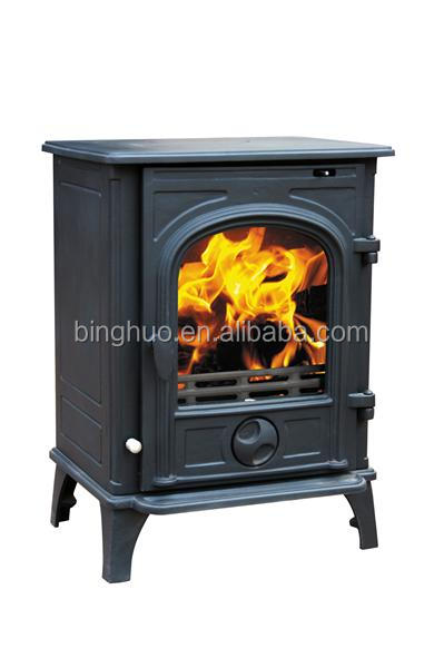 Wood Stove Fire Burning