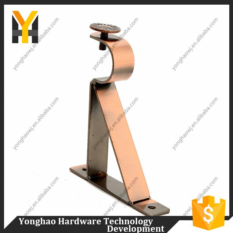 Modern decorative solid home decor colorful curtain bracket
