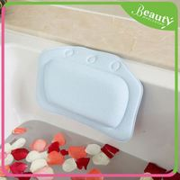 Waterproof durable pu foam bath pillow ,H0Twb8 bath tub headrest pillow