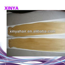 High Quality Mongolian Straight long and thick hair extensions