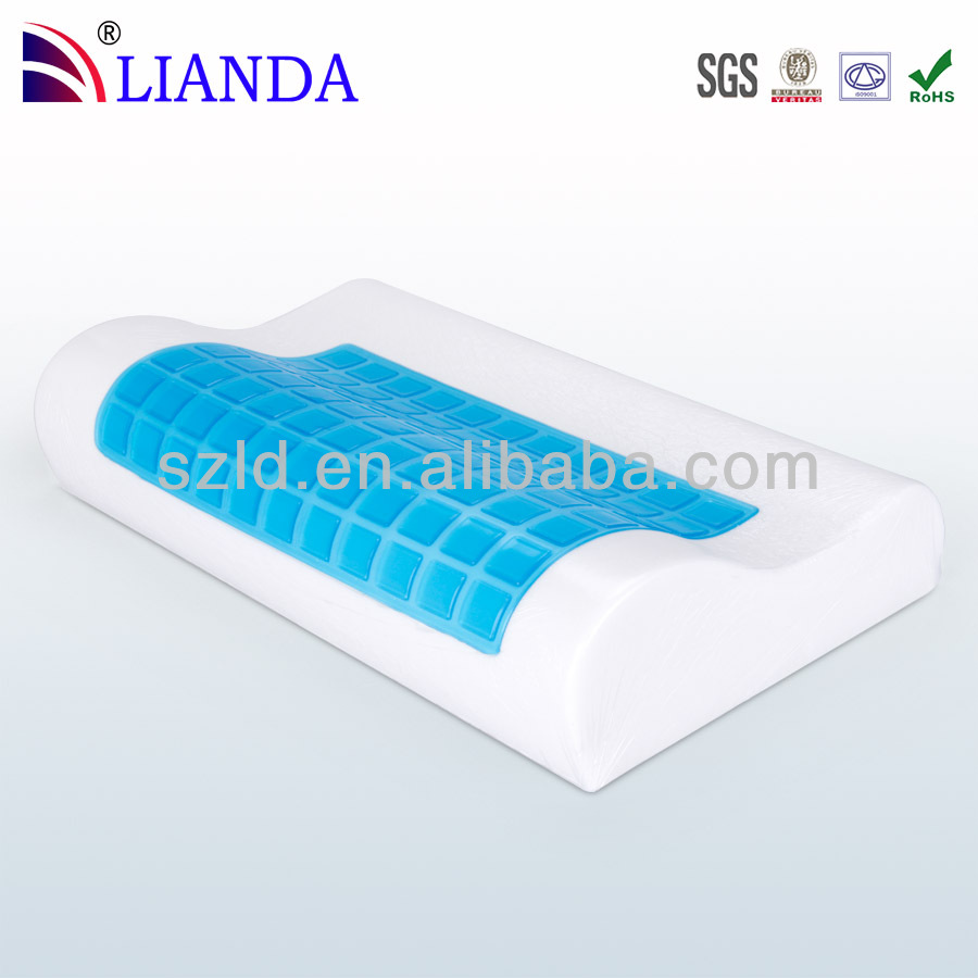 healthcare soft cooling gel memory foam pillows