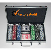 MLD-PCR03 manufacturer Aluminium Poker Case casino gambling case