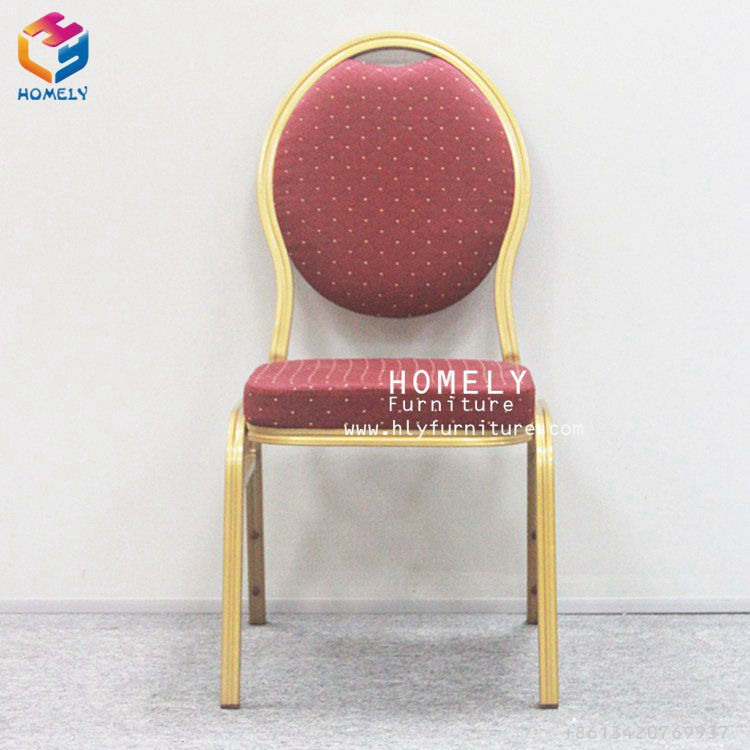 Manufacturer selling used red banquet chairs