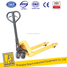 Professional factory price hand pallet truck with brake system & TUV