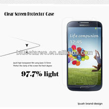 Factory Supply For Samsung Galaxy S4 i9500,clear screen shield cover,screen protector case