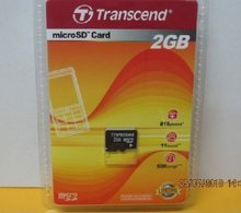 Transcend SD and Micro Memory Cards