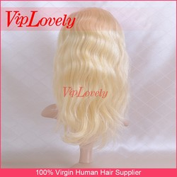 attractive design beautiful Silky 613 type honey blonde human hair weave with full cuticle