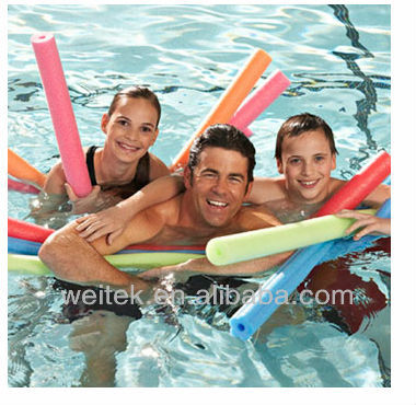 Soft swimming pool noodle