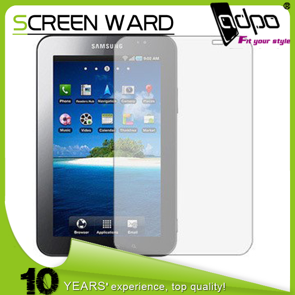 LCD Transparent screen film Guard Protector for Mobile phone Samsung Galaxy Tablet P1000