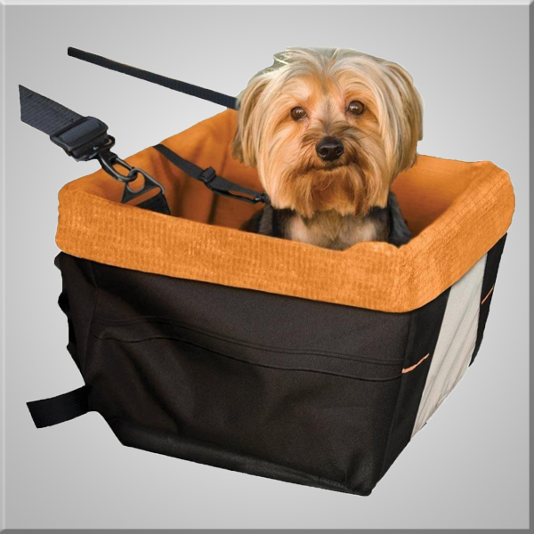 2016 Cute dog carrier bag with Seat Belt,dog Booster seat dog travel bag