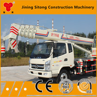 STSQ8B Mini Lift Mobile Telescopic Truck Mounted Boom Lift