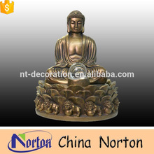 Hot sale outdoor decorative large bronze buddha statue NTBH-S854A