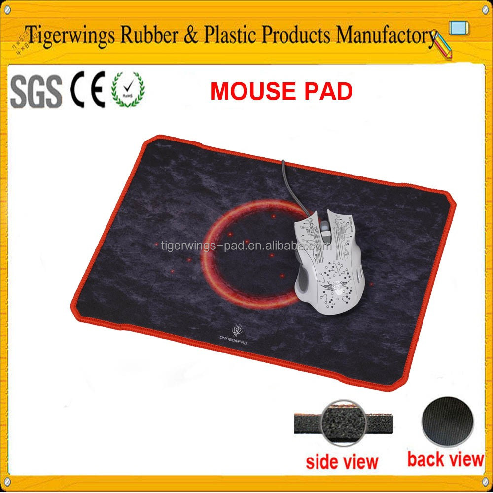 Trade assurance high tech computer accessories cloth top mouse pad