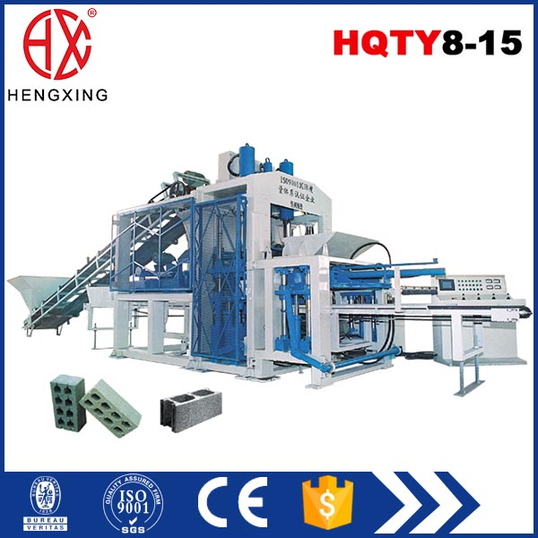 HQTY6-21 Full Automatic Concrete Cement Hollow Block Making Machine