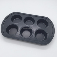 Factory directly sale non stick coating muffin pan round with high quality