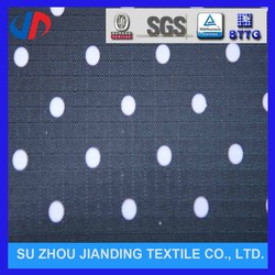 Colorful dot design new polyester jacquard luggages/tents fabric design