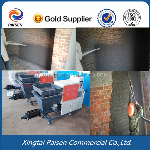 wall paint cement machine/ concrete spray equipment/ wall spray cement pump