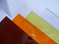 multicolor polycarbonate/pc solid sheet as hall roofing