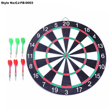 "12"" Round-Shape Paper Dartboard with Real Dart"