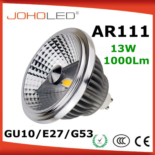 Aluminium reflector cree epistar dimmable g53 ar111 cob 12v <strong>r111</strong> <strong>led</strong> <strong>lamp</strong>