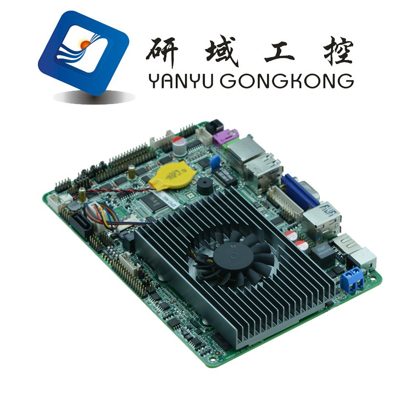 High performance embedded board mini pci fanless router motherboard Support Intel Haswell-U processor