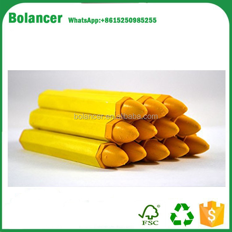 Factory Supply Yellow Tire Marking Crayon (12 Per Box)/Tire Repair Tools/Tire Marking Pen