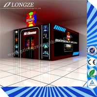 wholesale full hd professional Canton Fair 5d cinema simulator for 12 persons blue