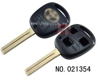 New product auto 3 button remote silicon car key cover for Toy, car key case 021354