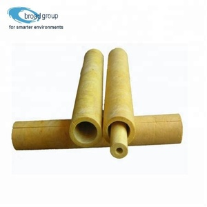 Insulation glass wool pipe/tube insulation industrial pipe cover insulation