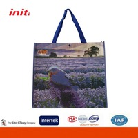 2016 INITI Factory Sale Logo Customized Recycled Nonwoven Shopping Bag