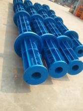 professional produce different kinds of plastic products concrete pole mould for electricity transmission