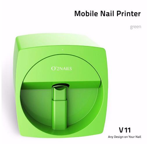Big discount Mobile Nail Printer V11 automatic <strong>O2</strong> nails finger Nails painting Machine