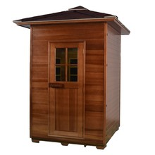 2 Person Outdoor Far Infrared Sauna Cabinet For Sale