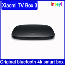 Original xiaomi mi tv box 3 international version 64bit 2 gb ddr3 wifi bluetooth android 6.0 smart 4 k hd tvbox